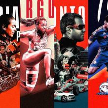 Orgullo Colombiano Posters Serie 1 - Deportistas. Un proyecto de Diseño y Diseño gráfico de David Espinosa - 14.03.2016
