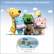 The Happets. Nombre para unos personajes infantiles. Un proyecto de Br e ing e Identidad de ignasi fontvila - 28.05.2016
