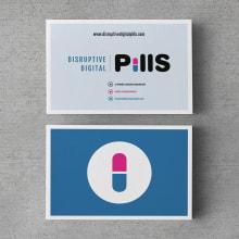 Disruptive Digital Pills. Um projeto de Br, ing e Identidade e Design gráfico de Xana Morales - 02.02.2014