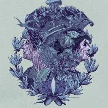 La profecía de las Oscuras, Book Cover. A Illustration, Kunstleitung, Verlagsdesign und Collage project by Celsius Pictor - 15.06.2016