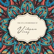 Diseño tarjetas de cumpleaños. Un proyecto de Diseño gráfico de Lucía Rodríguez Sainz - 22.07.2015