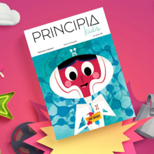 PRINCIPIA KIDS. Un proyecto de Ilustración y Diseño de personajes de Jhonny Núñez - 16.06.2016