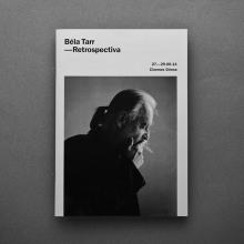 Béla Tarr — Retrospectiva. Un proyecto de Dirección de arte y Diseño gráfico de Adri Valls - 12.06.2014