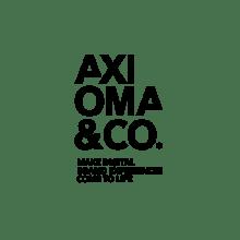 Rediseño identidad Axioma&Co. Un proyecto de Br, ing e Identidad y Diseño gráfico de 9pt - 30.06.2016