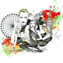Joe´s London advertisement. Un proyecto de Ilustración y Redes Sociales de Raul Viera - 05.07.2016