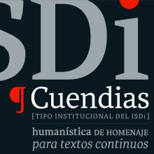 Cuendias. Tipografía institucional del ISDi. Un proyecto de Tipografía de Roberto Roiz - 19.06.2014
