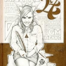 Sketchbook XXVII. Un proyecto de Ilustración y Tipografía de GM Meave - 30.07.2016