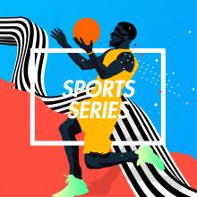 Sports Series . Um projeto de Ilustração, Direção de arte, Design editorial e Design gráfico de Adolfo Correa - 02.08.2016