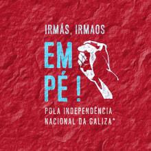 Campanha Dia da Pátria 2016 para Colectivo Independentistas Galegos. Un proyecto de Dirección de arte, Diseño gráfico y Marketing de Xosé Maria Torné - 24.07.2016