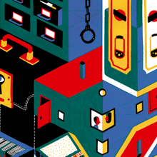 Guardar las formas. A Illustration project by Daniel Montero Galán - 08.16.2016