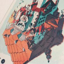Tributo a Wilco. Um projeto de Ilustração e Design gráfico de Juan Esteban Rodríguez - 16.08.2016