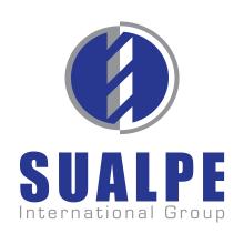 Logotipo SUALPE INTERNATIONAL GROUP. Un proyecto de Br, ing e Identidad y Diseño gráfico de María Criado - 09.04.2015