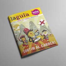 Portadas el Montserratí. Un proyecto de Ilustración y Diseño gráfico de gaur il•lustració - 26.09.2014