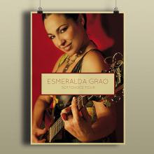 Esmeralda Grao - Promoción album Sottovoce. Un proyecto de Cine, vídeo, televisión, Diseño gráfico, Diseño Web y Desarrollo Web de Antonio Ufarte - 01.08.2016