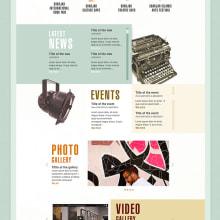 Propuestas: diseño web. Un proyecto de Diseño, Dirección de arte, Diseño gráfico y Diseño Web de lucia verdejo - 28.07.2014