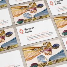 Marquesa de las huevas. Un proyecto de Ilustración, Dirección de arte, Br e ing e Identidad de Salvartes Design - 04.09.2016
