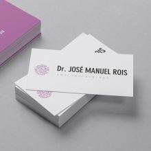 Dr. José Manuel Rois. Um projeto de Br, ing e Identidade e Design gráfico de Xana Morales - 19.09.2015