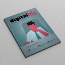 Digital Biz Magazine. Um projeto de Direção de arte, Design editorial e Design gráfico de Xana Morales - 05.10.2015
