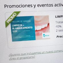 Anuncio web. Un proyecto de Publicidad, Diseño Web y Redes Sociales de Chary Esteve Vargas - 06.09.2016