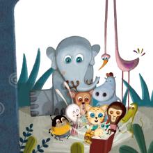 Libro ( Te cuento mis cuentos) Editorial San Pablo. Un proyecto de Ilustración de Albert Pinilla Ilustrador - 09.04.2016