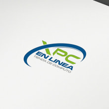 Logo XPC en Línea. Um projeto de Design gráfico de Victor Andres - 17.09.2016