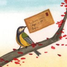 Cartas en el bosque. A Illustration project by Daniel Montero Galán - 09.26.2016