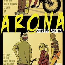 Cartel y banner para el Arona extreme sports. A Design, Illustration, Werbung, Br, ing und Identität und Events project by Ivan Retamas - 27.09.2016