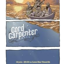 Cartel para Cord Carpenter. A Design, Illustration, Werbung, Musik und Audio und Events project by Ivan Retamas - 27.09.2016