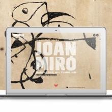 MIRÓ. Um projeto de Animação, Design interativo e Web design de Alberto Luque - 29.09.2016