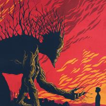Un Monstruo viene a verme. A Illustration project by Andreu Zaragoza - 10.02.2016