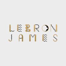 LeBron James. Um projeto de Ilustração, Direção de arte, Design gráfico e Tipografia de Adolfo Correa - 11.10.2016