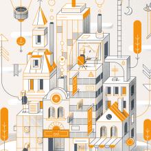 Mi Proyecto del curso: Ilustración corporativa: Guía de Estilo vectorial. Un proyecto de Ilustración de Mᴧuco Sosᴧ - 12.10.2016
