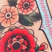 VICTORIA & LUNA · Custom painted baby-stools. Un proyecto de Diseño, Ilustración, Diseño de complementos, Artesanía, Bellas Artes y Diseño de interiores de Mapy D.H. - 08.09.2015