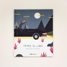 Feroz, el lobo. Un projet de Illustration, Conception éditoriale , et Éducation de Leire Salaberria - 16.05.2014