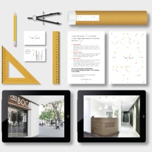 SPAIS — Servicios integrales. Un progetto di Br, ing e identità di marca, Graphic Design, Architettura dell'informazione, Interior Design, Marketing, Cop , e writing di Sarai Glahn - 23.10.2016