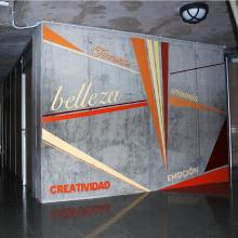 Murales IES Josefina de la Torre. Um projeto de Instalações, Pintura e Arte urbana de Raúl Socas Ramírez - 14.05.2016