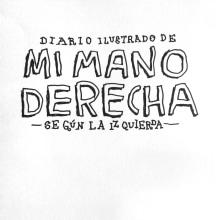 Diario ilustrado de mi mano derecha según la izquierda. A Illustration project by jozedaniel - 08.10.2016