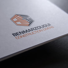 IDENTIDAD CORPORATIVA BEN MARZOUGUI. Um projeto de Br, ing e Identidade, Design editorial e Design gráfico de Redouane Lahloul - 07.09.2013