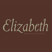Tipografía Elizabeth. Un projet de T , et pographie de Bauertypes - 13.11.2016