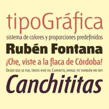 Tipografía Fontana. Un projet de T , et pographie de Bauertypes - 13.11.2016