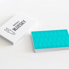 Proyecto Bluesky. Un proyecto de Diseño, Dirección de arte, Br, ing e Identidad y Diseño gráfico de Sandra Freitas Silva - 26.06.2016