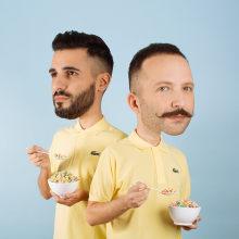 10 seriously cool self-portraits for Relajaelcoco. Um projeto de Fotografia, Direção de arte e Design de vestuário de Christian Baumgartner - 17.11.2016