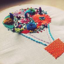 Mi Proyecto del curso: Técnicas básicas de bordado: puntadas, composiciones y gamas cromáticas. A Stickerei project by Patri Caride - 21.11.2016