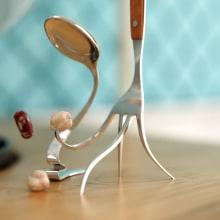 """ODISEA """"Canal cocina"""". Un proyecto de Publicidad, Cine, vídeo, televisión, 3D, Animación y Diseño de personajes de Fernando Domínguez Cózar - 21.11.2010"""