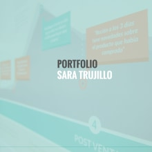 Mi Proyecto del curso: UX: Portfolio Profesional. A Graphic Design, Information Architecture, and Web Design project by Sara Trujillo - 11.23.2016