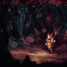 The ritual forest. Um projeto de Design, Ilustração e Design de jogos de Sergio Peña - 24.11.2016