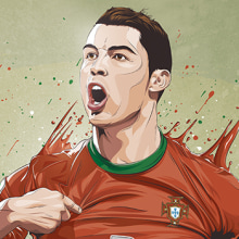 Stars World Cup 2014. A Illustration, Art Direction, and Graphic Design project by Fer Taboada - 06.09.2014
