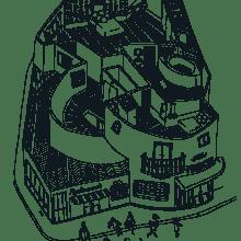 La Gazette de l'Hôtel Panache - Paris. Un proyecto de Diseño gráfico e Ilustración de Justine Duhé - 31.01.2016