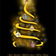 Felicitación de Navidad. Newsletter.. Um projeto de Design, Ilustração e Design gráfico de Pilar García Battaglia - 30.11.2016