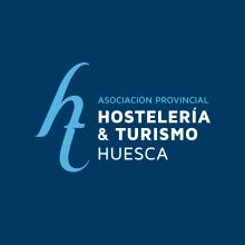 BRANDING ASOCIACIÓN PROVINCIAL HOSTELERÍA & TURISMO HUESCA. Um projeto de Br, ing e Identidade, Design gráfico e Web design de Sara Palacino Suelves - 04.12.2016